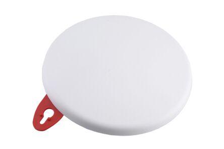 plafondafdekplaat rond 125mm wit