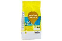 weber.color premium voegmiddel 1-15mm lichtgrijs zak 5kg