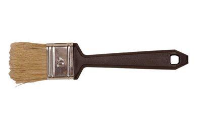 Platte Verniskwast Acryl Wit 70mm