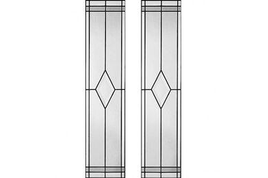 WEEKAMP Glas In Lood 1 Glasset T.B.V. WK6542 En WK6552 930x2015mm