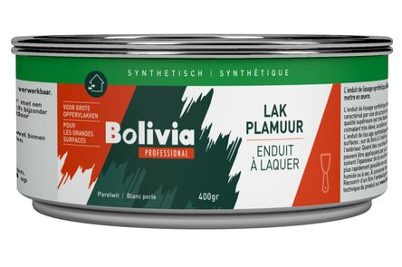 bolivia synthetische lakplamuur 400gr
