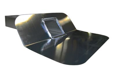 Kiezelbak Alu 60x80mm 45°