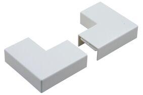 attema p25 vlakke hoek met plaatje polarwit (set van 2 stuks)