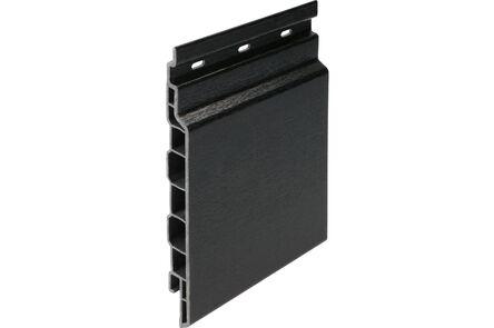 keralit sponningdeel 2814 classic zwart 9005 143x6000