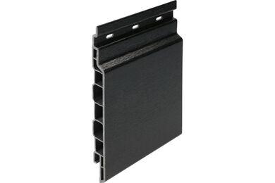 KERALIT 2814 Sponningdeel 143mm Zwart Classic Nerf 17x143x6000mm