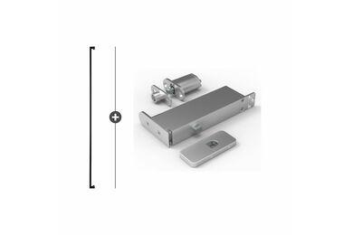 SKANTRAE Hang- en Sluitwerkpakket HSP611 Taatsscharnier Tupelo Zwart T.B.V. SSL Series