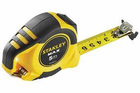 stanley rolmaat magneet 2-zijdig met karabijhaak stht0-36117 5m
