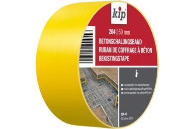 KIP Bekistingsband Geel 204-15 50mmx33m