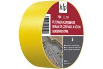 KIP Bekistingsband 204 Geel Rol 50mm 33m
