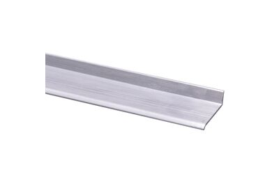 Lekdorpel Aluminium 12x38x2000mm