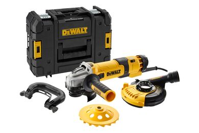 DEWALT DWE4257KT-QS Betonpolijstmachine 230V 1500w 125mm