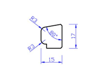 Meranti glaslat gevingerlast a5 80mu gegrond  17x15x4000