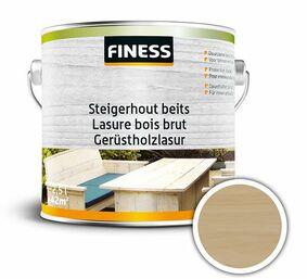 finess steigerhoutbeits binnen/buiten grey-wash 2,5ltr
