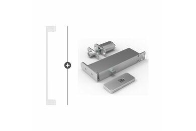 SKANTRAE Hang- en Sluitwerkpakket HSP615 Taatsscharnier Ripley Wit T.B.V. SSL Series