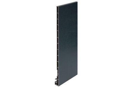 keralit dakrandpaneel 2831 classic antraciet 7016 300x20x10 6000mm