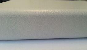 pontmeyer spaanplaat werkblad 1 zijde afgerond kant wit 4100x900x28mm