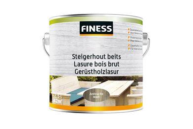 FINESS Steigerhoutbeits Anthracite-wash Binnen/Buiten 2,5l
