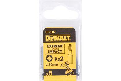 DEWALT DT7387T-QZ Impact Torsion 25mm PZ2