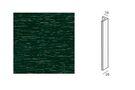 KERALIT Eindprofiel 2836 6009 Donkergroen Classic nerf Fiberyl 4000mm