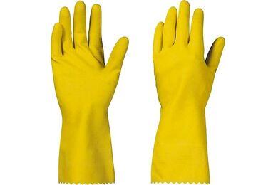 Huishoudhandschoen Geel XL