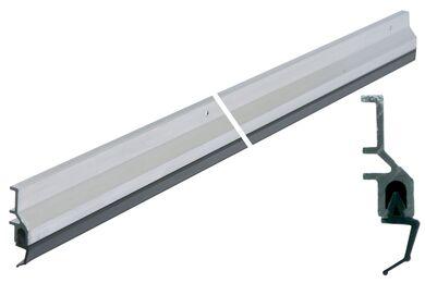 ELLEN Tochtstrip Binnen-/Buitendraaiend ATS Aluminium 2300mm