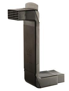 ubbink vloerventilatiekoker zwart  lengte 360-560mm