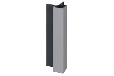 keralit hoekprofiel uitwendig 2828 classic grijs 7001 4000mm
