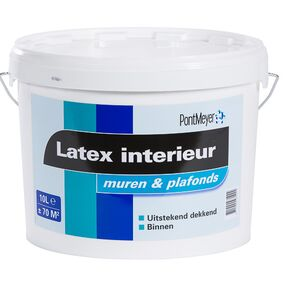 pm latex interieur binnen 10ltr