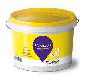 Weber afdichtcoat emmer 4kg