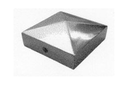 paalornament pyramide 90x90 therm verzinkt