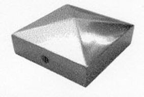 paalornament pyramide 70x70mm therm verzinkt