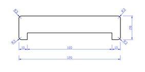 meranti gibolat gegrond gl1 28x120x3050