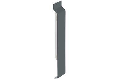 KERALIT 2813 Verbindingstuk Voor 2814 Basaltgrijs Classic Nerf