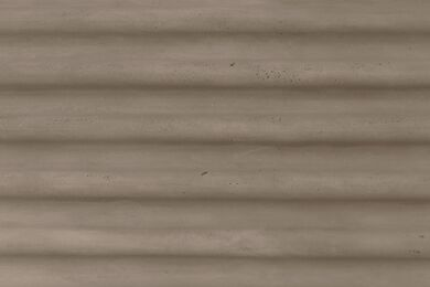 Fitwall Concrete Wandpaneel Wave Grey Sand 3290x1295x30mm