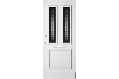 WEEKAMP Voordeur Premium Hardwood WK1134 Voorbehandeld Wit 930x2115mm
