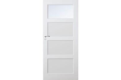SKANTRAE SKS 1235 C1 Satinato Glas Stompe Deur FSC 680x2315mm