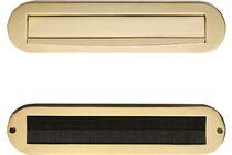SKANTRAE All-In Brievenbuspakket Ovaal Messing