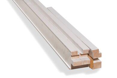 Deurkozijn Naaldhout Opdek Gegrond PEFC 56x115x2315mm