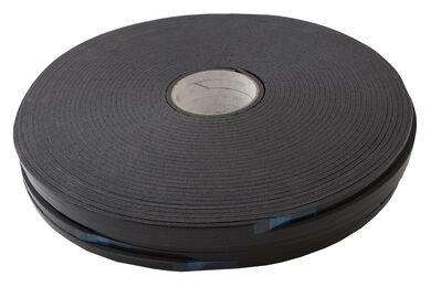 Glasband 9x4mm PE Super Grijs Rol 100m