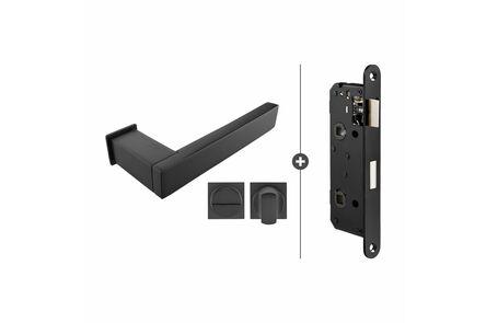 skantrae hang- en sluitwerkpak hsp844 vast- en bezetslotlim kruk lenox zwart