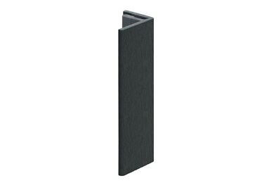 KERALIT 2806 Eindprofiel 17mm Monumenten Groen Classic Nerf 4000mm