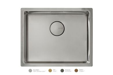 Krion Solid Surface Spoelbak SC807 E RVS Satin 500x400x212mm