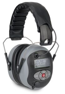 artelli gehoorbescherming 28db Pro-silence FM grijs-zwart