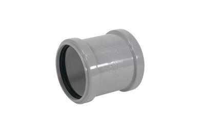 MARTENS PVC Overschuifmof 2x Manchetmof 50mm