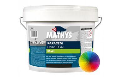 MATHYS Paracem Deco Matt Latex Basis Mat Diep 10ltr
