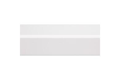 Grenen Hoeklat Geschaafd Gelakt Wit FSC 34x34x2700mm
