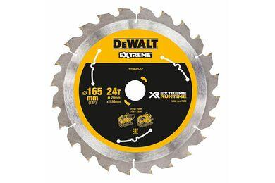 DEWALT DT99560-QZ Cirkelzaagblad Extreme Runtime 24-tands 165x20mm