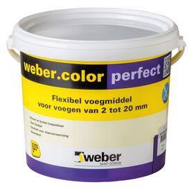 weber.color perfect voegmiddel emmer 5kg wit