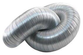 afvoerslang aluminium 3000mm flexibel
