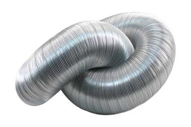 STARX Afvoerslang Aluminium 100mm 1,5m